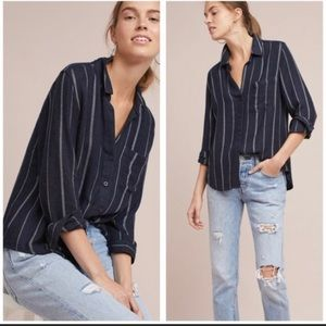 Anthropologie Cloth & Stone Casual Button Down Top